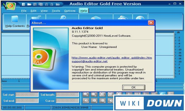Download Audio Editor Gold Link GG Drive Full Crack