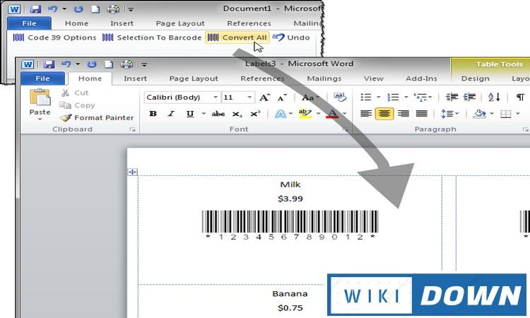 Download Barcode Add in for Word and Excel Link GG Drive Full Crack