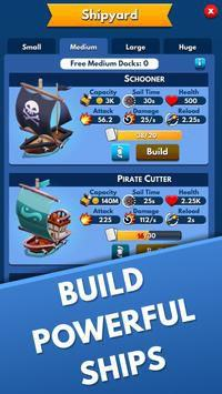 Idle Pirate Tycoon xây dựng hòn đảo