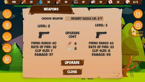 Nâng cấp Hack Zombie Forest HD