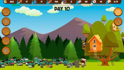 Zombie Forest HD Live Zombie Fever