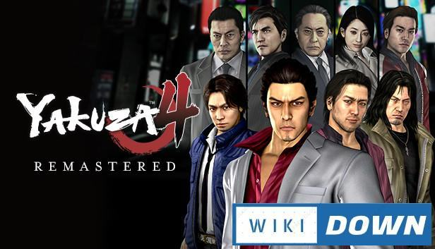 Download Yakuza 4 Remastered Mới Nhất