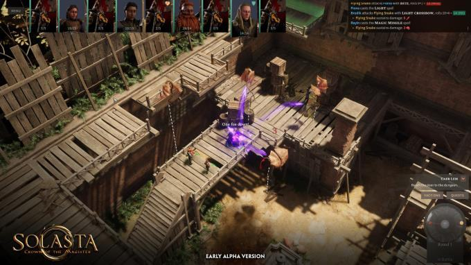 Tải xuống Solasta: Crown of the Magister v0.4.21 Final Torrent