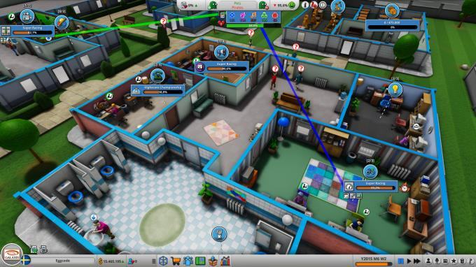 Bản crack của Mad Games Tycoon 2 PC
